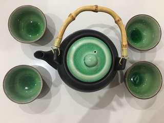 Tea pot set ceramic