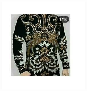 Kemeja Batik Printing Halus (High Quality)