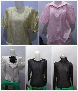 Paket baju baru (5 pcs 95.000)