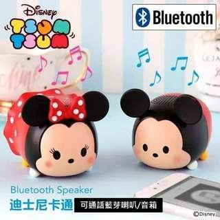 Disney/迪士尼 日本Hamee米妮米奇可通話無線藍牙喇叭音箱便攜小音響
