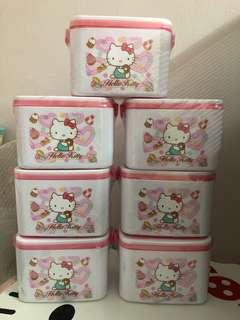 Hello Kitty Lunch Box Tupperware
