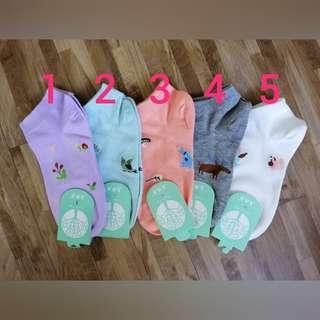 🚚 Design 010 Cartoon Ankle Socks