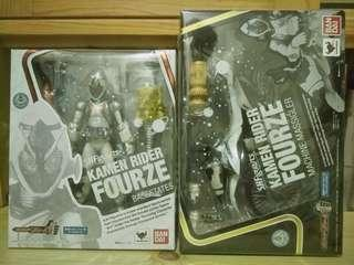 全新 兩盒未開 Shf 幪面超人 日版 Fourze 連 行貨 Machine Massigler 電單車 zi-o