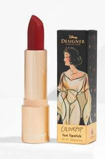 🚚 Colourpop Disney Designer Lux Lipstick (Snow White)