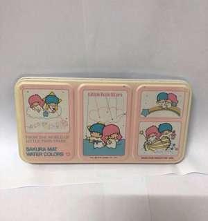 Little Twin Star 1976年絕版顏料連盒