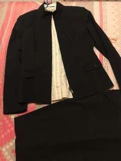 3件套裝 G2000 黑色 西裝女裝 外套 恤衫 Suit 西褲 見工 面試