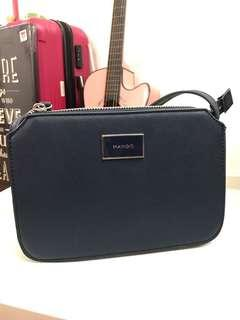 Mango Touch Navy Sling Bag #MakeSpaceForLove