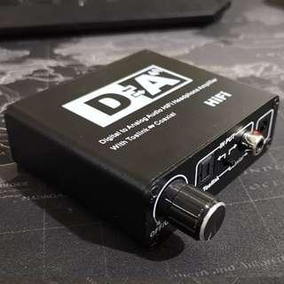 Dorewin Toslink SPDIF to RCA Toslink 3.5mm jack audio converter #optical xiaomitv mi tv spdif