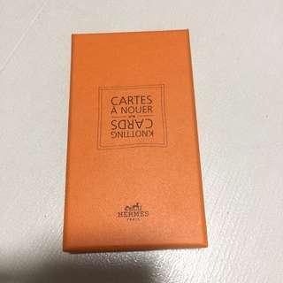 🚚 Hermès limited edition Knotting Cards cartes a nouer