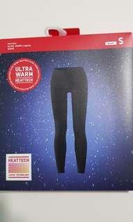 Uniqlo Ultra Warm Leggings Black