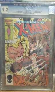 Marvel Comics vintage collectibles classics rare Key issue Hard to find comics graded Cgc 9.2
