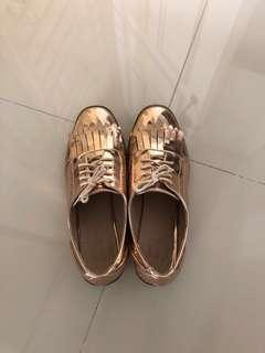 ASOS Brogues (Rose Gold)