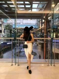 Designer skirt pencil skirt white skirt