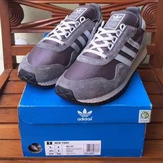 Adidas New York Originals Granite / Clear Grey BNIB | Size 9 UK
