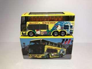 Tomica Hello Kitty HATO Bus 觀光 海洋巴士 別注版