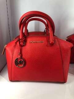 🚚 (Instock) Authentic MK Michael Kors Riley Small Satchel Sling Crossbody Bag