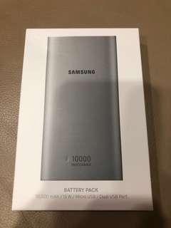Samsung power bank(10000mA)全新未拆封(喜歡可小議價)