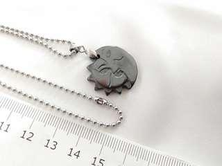 Stainless steel chain necklace & pendant