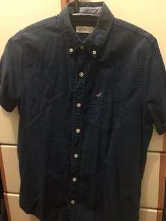 Hollister shirt 男裝 恤衫