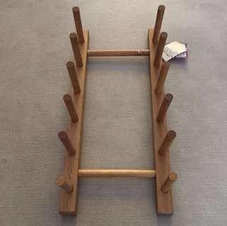 Wooden plate rack 木製碟架