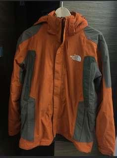 north face gore tex goretex 2 in 1 jacket not down