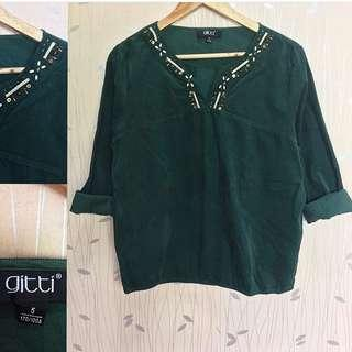 Green Elegant Top ❤️❤️