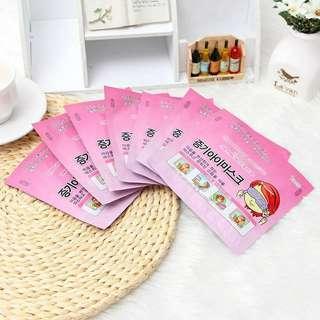 🚚 韓國人氣spa蒸氣眼罩 (一組10片)
