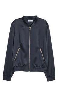 H&M Satin Bombet Jacket