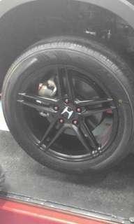 17 inch black Rim for Vezel