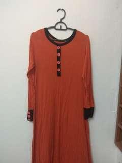Preloved long blouse #MMAR18