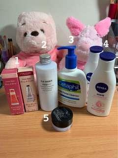 各類清潔保養品