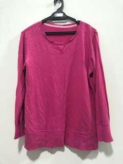 Uniqlo shirt in pink