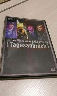 Weiβ kreuz LAST LIVE 03 DVD