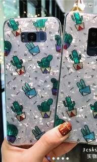 Cactus design phone case Note 9
