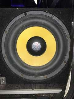Focal k2power 13 inch Subwoofer with box