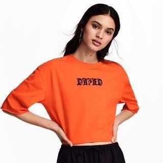 H&M Dazed top