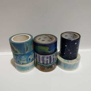 紙膠帶 系列藍紫