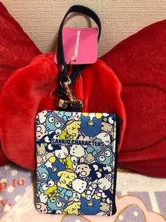 Sanrio Character Blue Color Ezlink Card Case N Coin Case