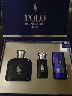 Authentic Polo RL Blue Gift Set Perfume