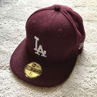 New era cap (burgundy) cap帽