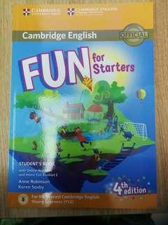 Fun for Starters Student's Book with Online Activities. Cambridge English [ UK ]