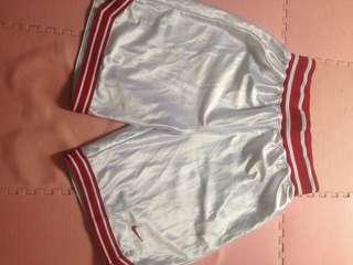 NIKE SHORT PANTS WHITE