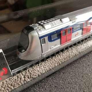 九廣鐵路KCR世紀列車模型