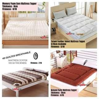 High Quality Mattress Toppers