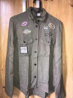 H&M Army Shirt Patch