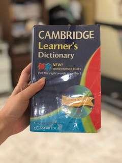 cambridge dictionary ( kamus )