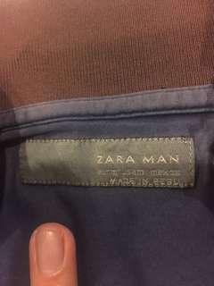 Zara Men Polo Tee (Made in 🇵🇪 Peru)