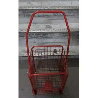 Very good condition shopping cart market trolley