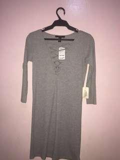 FOREVER 21 DRESS (Gray)