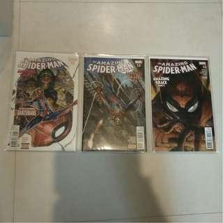 Marvel Comic Amazing Spider man - Amazing Grace #1.1 - 1.6 (Complete Series) FN/VF by Jose Molina & Simone Bianchi !